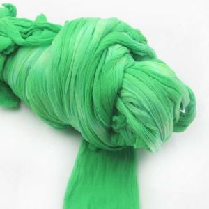 Two colours Specially dyed nylon, Nylon, green, Light green, Stretched Size 1.5m x 15cm, 1 piece, [SWW0650]